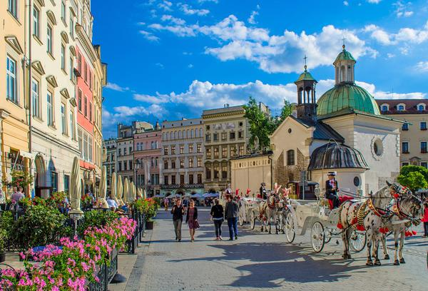 Liczne inwestycje na terenie Krakowa