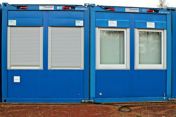 nowoczesne kontenery mieszkalne