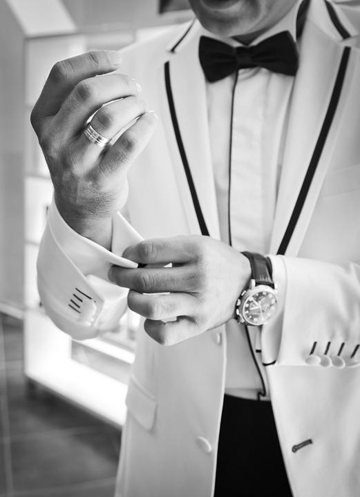 Eleganckie spinki do koszul