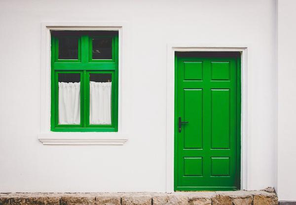 Drzwi drewniane są vardzo trwałe