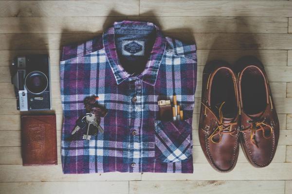 Moda na męskie koszule flanelowe