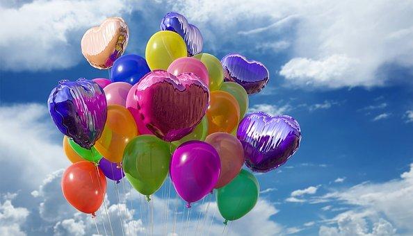 urodzinowy prezent balonowy